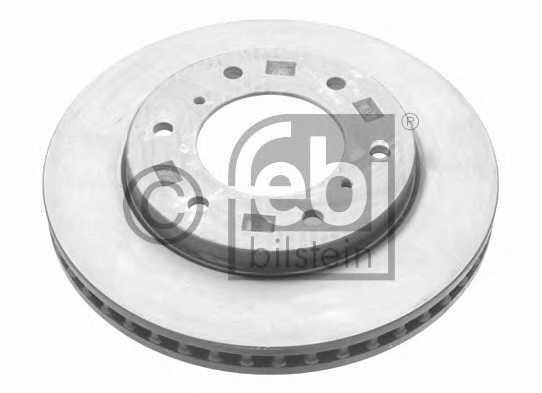 Тормозной диск FEBI BILSTEIN 28437 - изображение