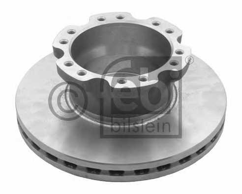 Тормозной диск FEBI BILSTEIN 29157 - изображение