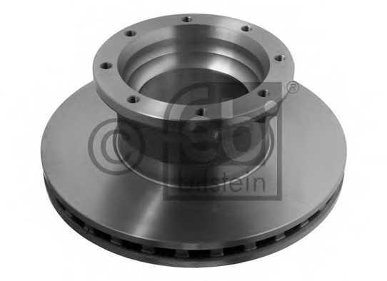 Тормозной диск FEBI BILSTEIN 29166 - изображение