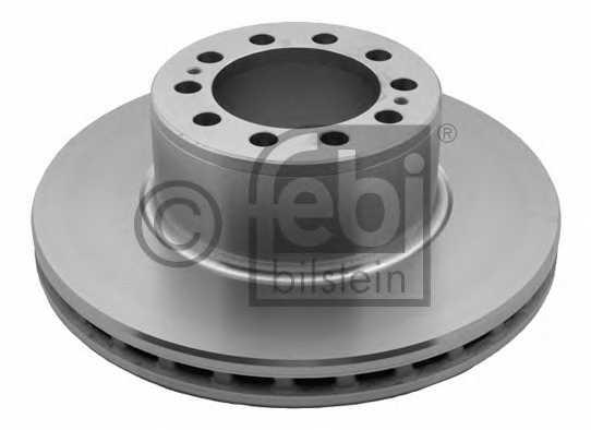 Тормозной диск FEBI BILSTEIN 29167 - изображение