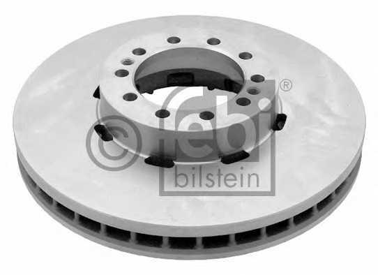 Тормозной диск FEBI BILSTEIN 29171 - изображение