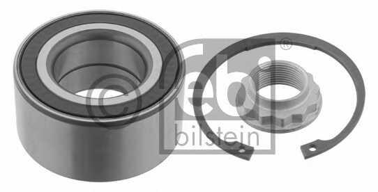 Комплект подшипника ступицы колеса FEBI BILSTEIN 29631 - изображение