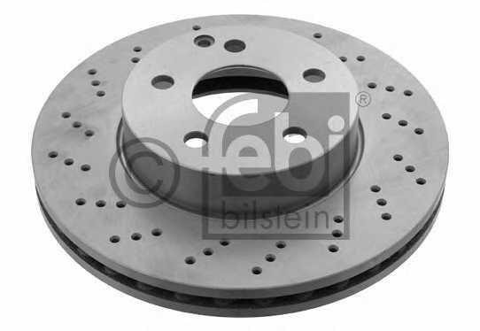 Тормозной диск FEBI BILSTEIN 30552 - изображение