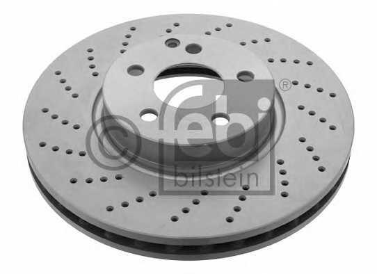 Тормозной диск FEBI BILSTEIN 30553 - изображение