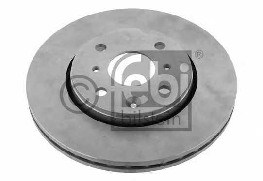 Тормозной диск FEBI BILSTEIN 30636 - изображение