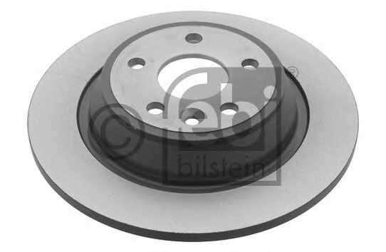 Тормозной диск FEBI BILSTEIN 30721 - изображение