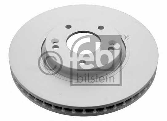 Тормозной диск FEBI BILSTEIN 31317 - изображение