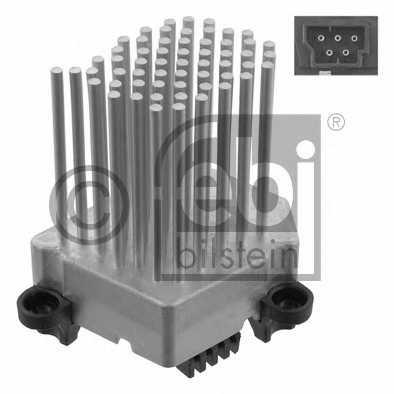 Блок управления, отопление / вентиляция FEBI BILSTEIN 31966 - изображение