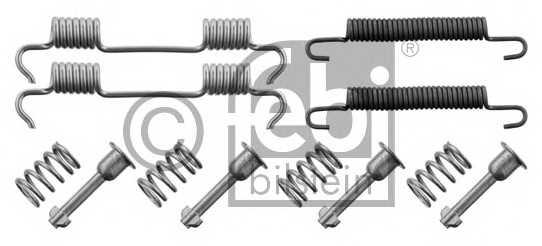 Комплектующие тормозной колодки FEBI BILSTEIN 34156 - изображение
