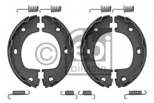 Комплект тормозных колодок задний для MERCEDES SPRINTER(906) / VW CRAFTER(2E#,2F#) <b>FEBI BILSTEIN 34314</b> - изображение