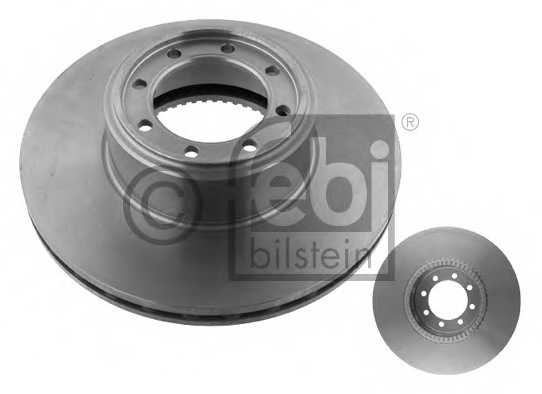 Тормозной диск FEBI BILSTEIN 35338 - изображение