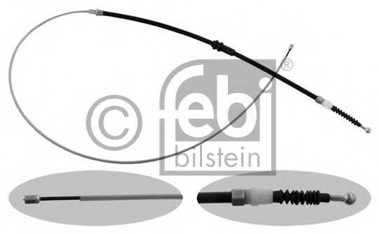 Трос стояночной тормозной системы FEBI BILSTEIN 36957 - изображение