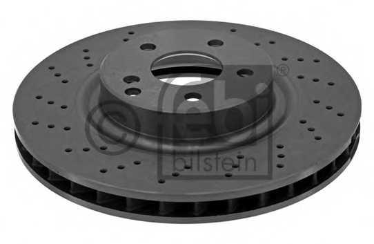Тормозной диск FEBI BILSTEIN 37725 - изображение