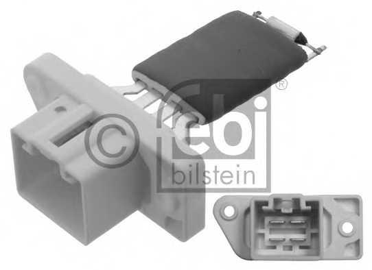 Сопротивление вентилятора салона FEBI BILSTEIN 38635 - изображение