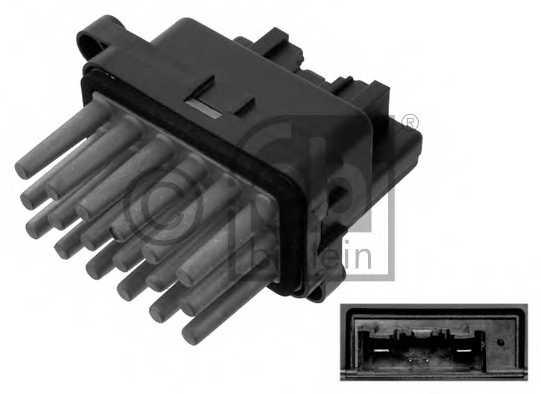 Сопротивление вентилятора салона FEBI BILSTEIN 38645 - изображение