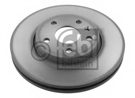 Тормозной диск FEBI BILSTEIN 39186 - изображение