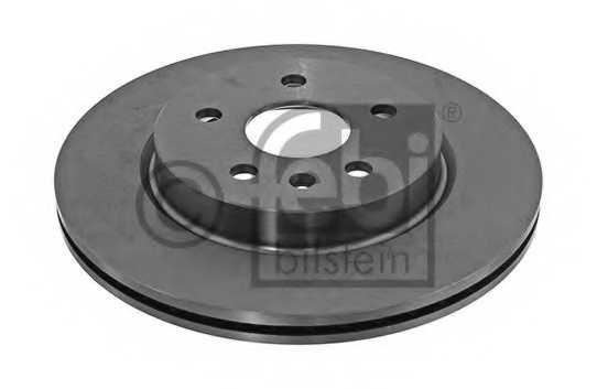 Тормозной диск FEBI BILSTEIN 39373 - изображение