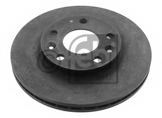 Тормозной диск FEBI BILSTEIN 40075 - изображение