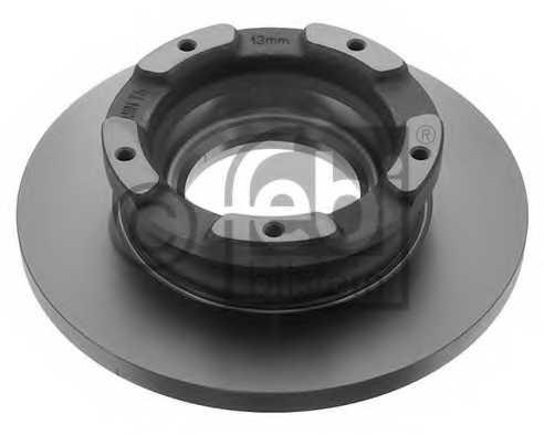 Тормозной диск FEBI BILSTEIN 40783 - изображение