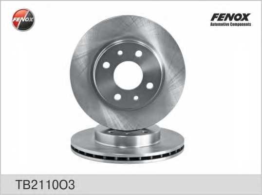 Тормозной диск FENOX TB2110O3 - изображение