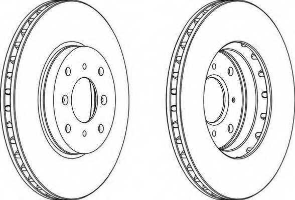 Тормозной диск FERODO DDF1119 - изображение