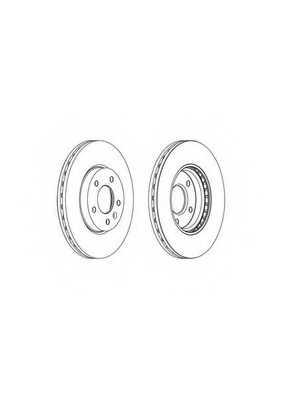 Тормозной диск FERODO DDF1870 - изображение