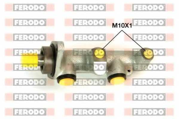 Главный тормозной цилиндр FERODO FHM1079 - изображение