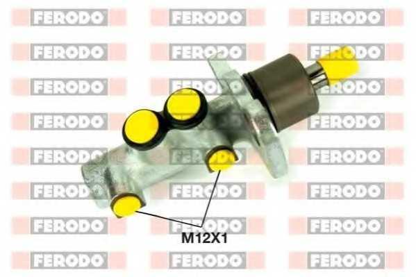 Главный тормозной цилиндр FERODO FHM1100 - изображение
