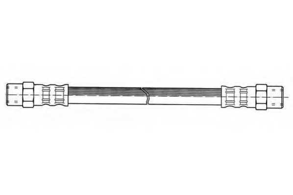Тормозной шланг FERODO FHY2000 - изображение