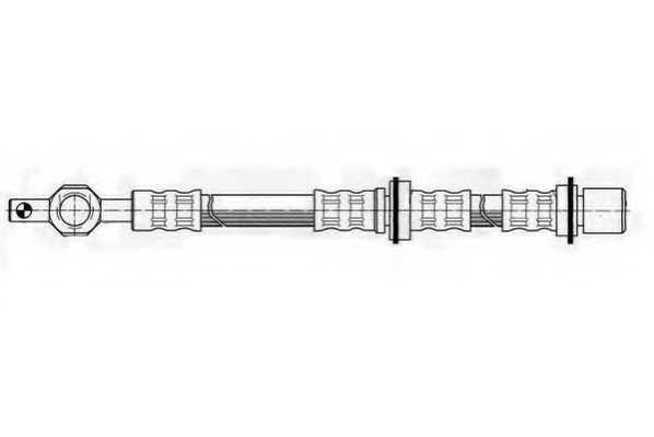 Тормозной шланг FERODO FHY2394 - изображение