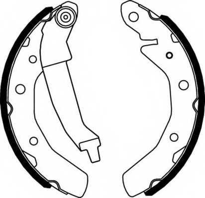 Комплект тормозных колодок FERODO FSB566 - изображение