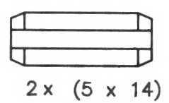 Комплект тормозных колодок задний для TOYOTA AVENSIS(#T22#) <b>FERODO FSB581</b> - изображение 1