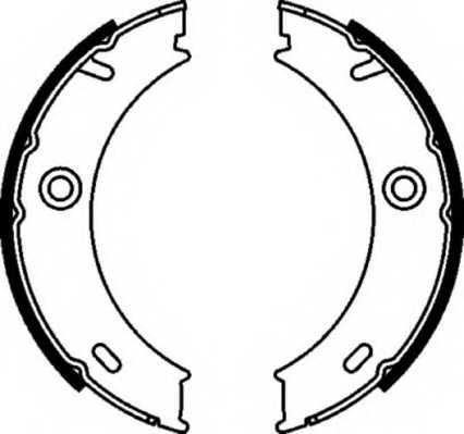 Комплект колодок стояночной тормозной системы FERODO FSB625 - изображение