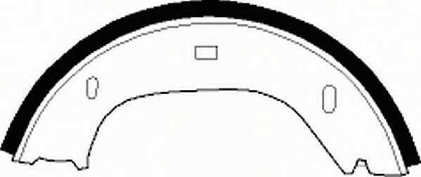 Комплект колодок стояночной тормозной системы FERODO FSB92 - изображение 1
