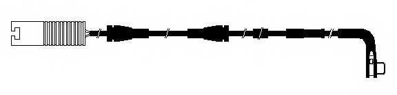 Сигнализатор износа тормозных колодок FERODO FWI269 - изображение