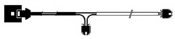 Сигнализатор износа тормозных колодок FERODO FWI273 - изображение