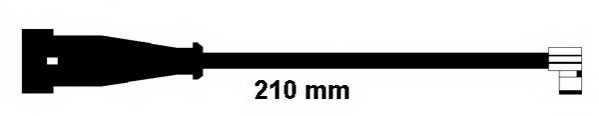 Сигнализатор износа тормозных колодок FERODO FWI306 - изображение