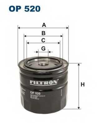 FILTRON OP520 - фильтрмасляный - изображение