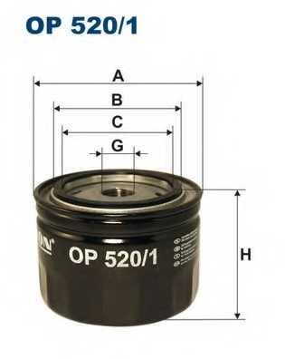 FILTRON OP520/1 - фильтрмасляный - изображение