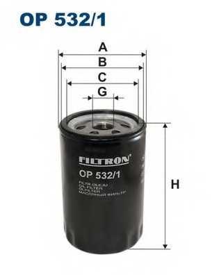 FILTRON OP532/1 - фильтрмасляный - изображение