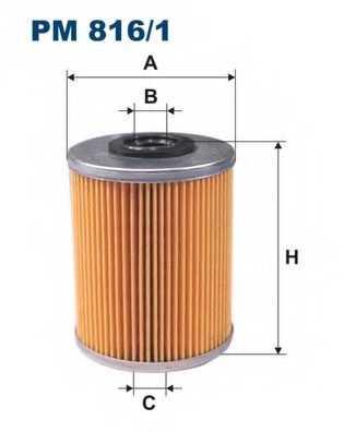 FILTRON PM816/1 - фильтртопливный - изображение