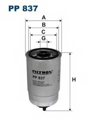 FILTRON PP837 - фильтртопливный - изображение