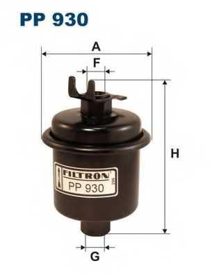 Фильтр топливный FILTRON PP930 - изображение