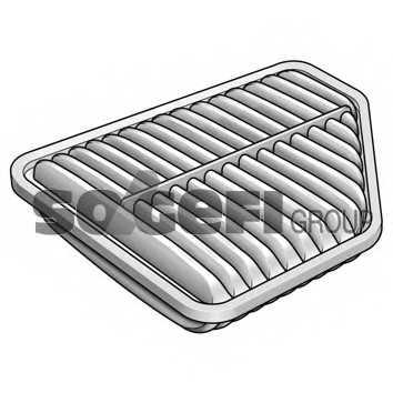 Фильтр воздушный FRAM CA10169 - изображение 1