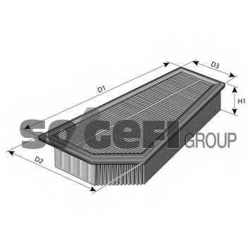Фильтр воздушный FRAM CA10878 - изображение 1