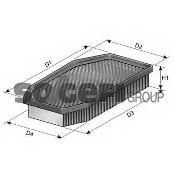 Фильтр воздушный FRAM CA11209 - изображение 1
