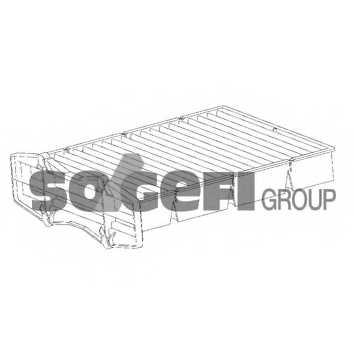Фильтр салонный FRAM CF10087 - изображение 1