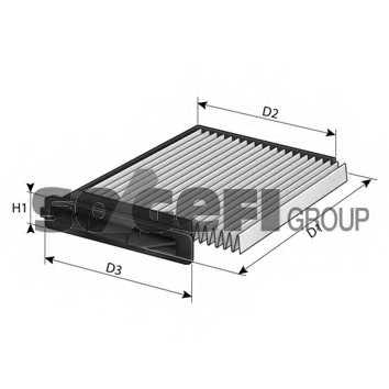 Фильтр салонный FRAM CF10545 - изображение 1