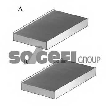 Фильтр салонный FRAM CF11808-2 - изображение 1