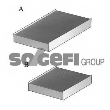 Фильтр салонный FRAM CFA11650-2 - изображение 1